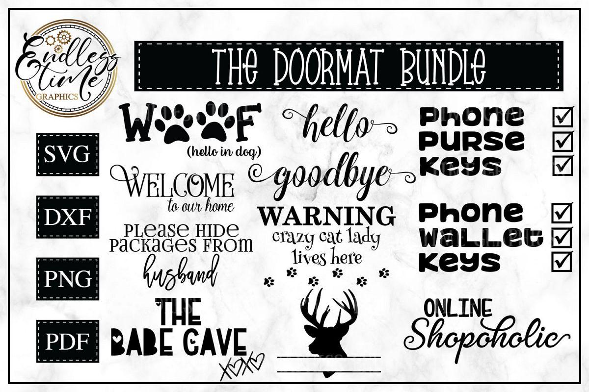 Doormat SVG Bundle example image 1
