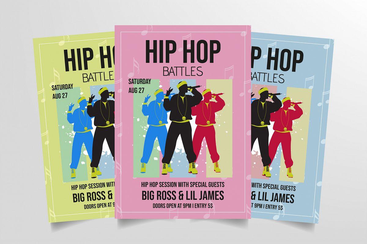 Hip Hop Battles Flyer Template example image 1