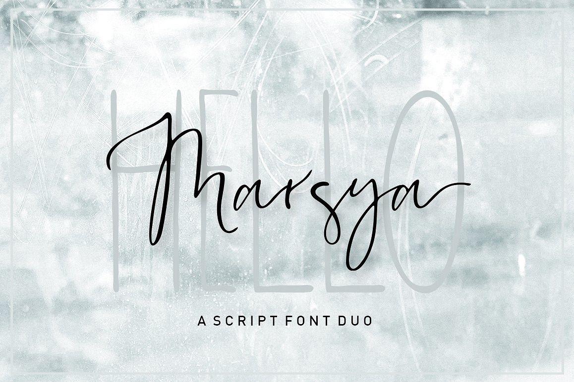 Marsya Script  example image 1