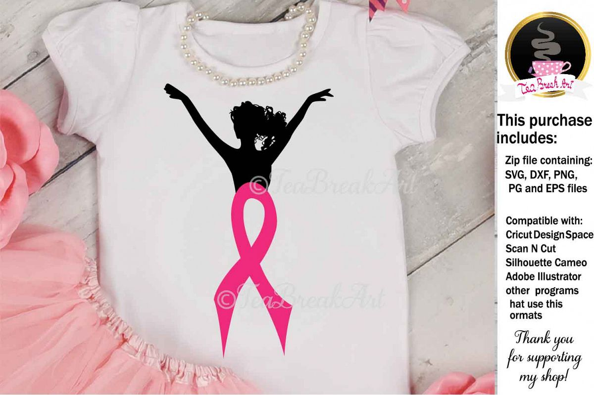 Breast Cancer Awareness Cutting Files 1085 example image 1