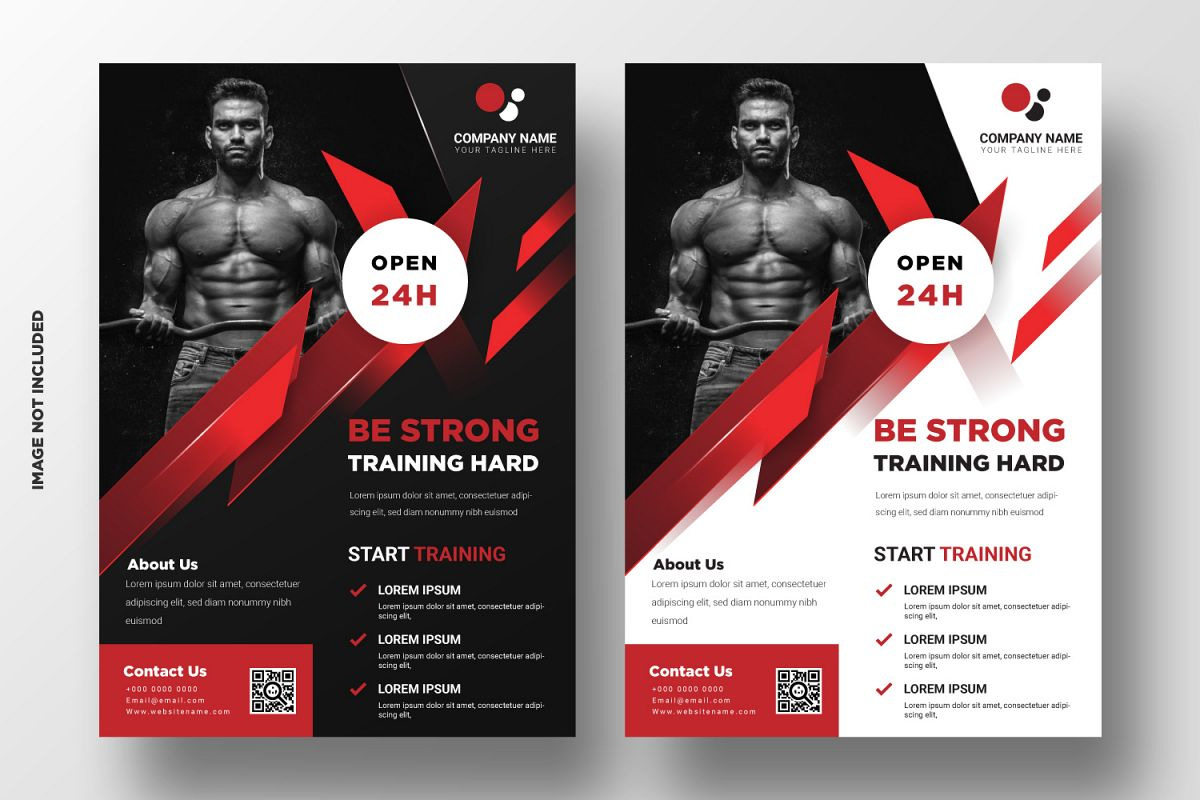 Fitness Flyer Template. Part 3 example image 1