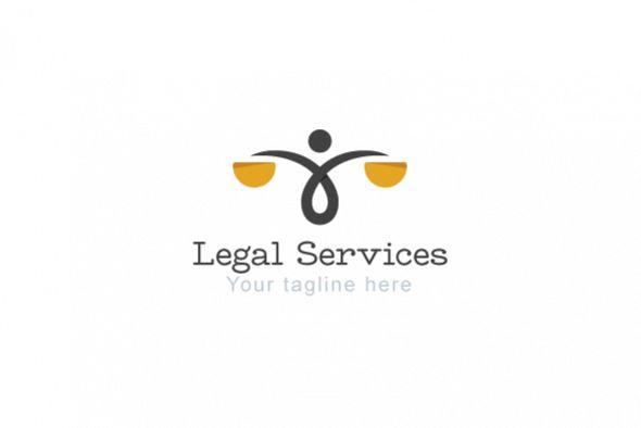 Legal Services - Law & Attorney Logo Te | Design Bundles