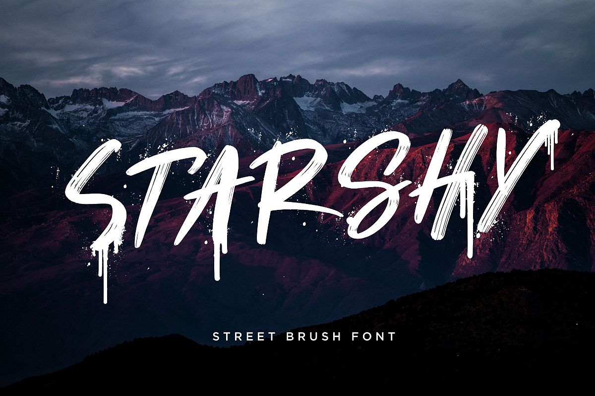 Starshy Street Brush example image 1