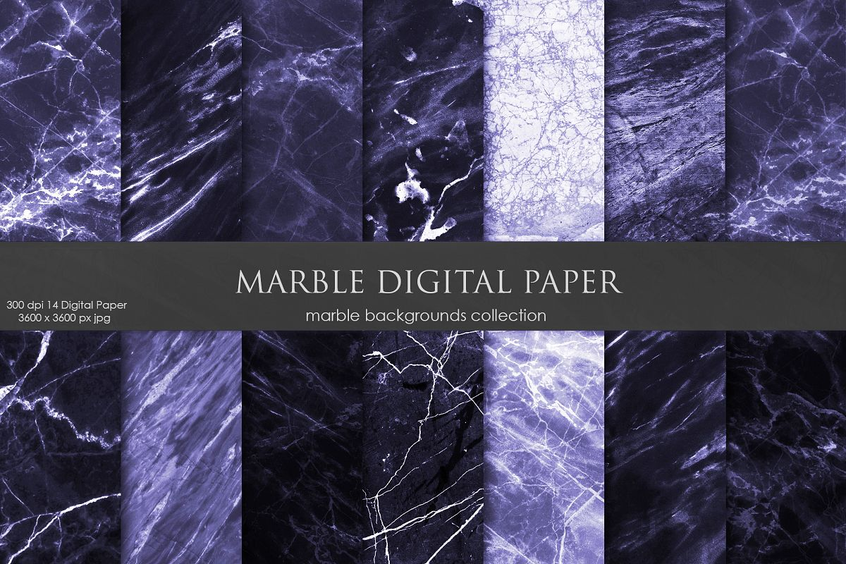 Purple Marble Texture, Backgrounds example image 1