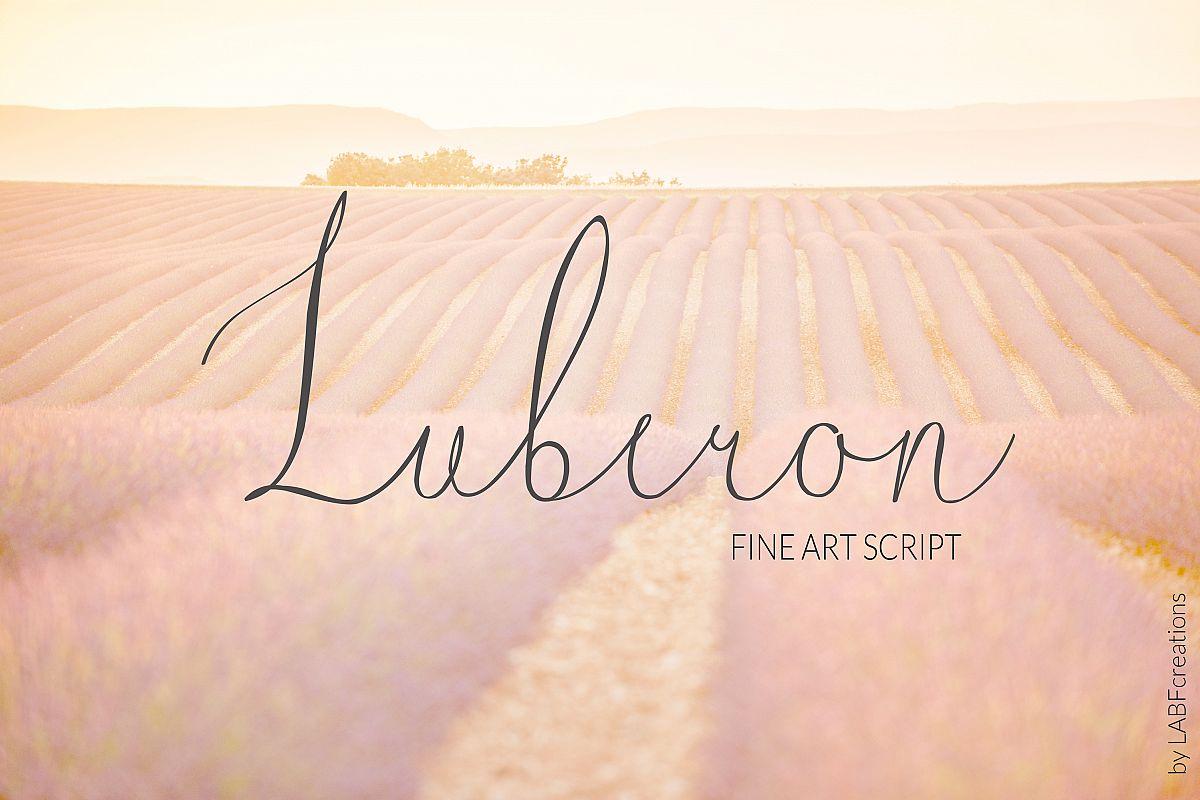 Luberon. Fine art script example image 1