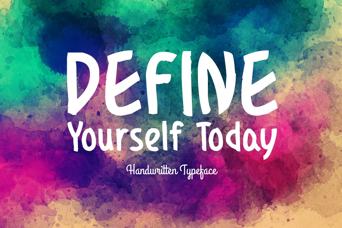 Define Yourself Today example image 1