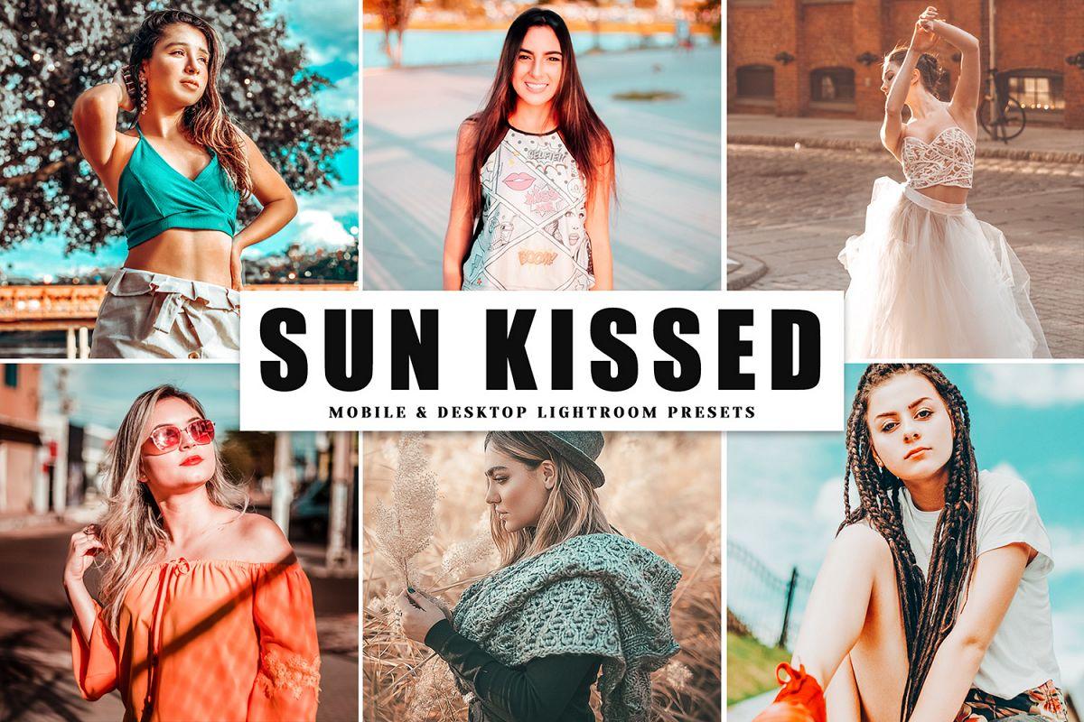 Sun Kissed Mobile & Desktop Lightroom Presets example image 1