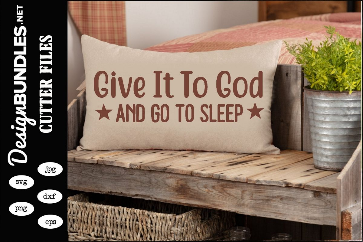 Give It To God SVG example image 1