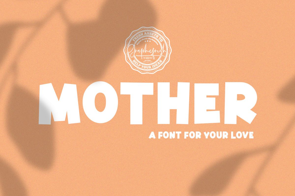 Mother | A Font for Your Love example image 1