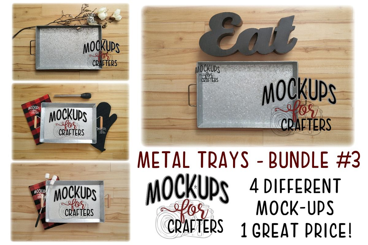 Metal trays bundle #3 - Cooking,Grilling, Bonfire - Walmart example image 1