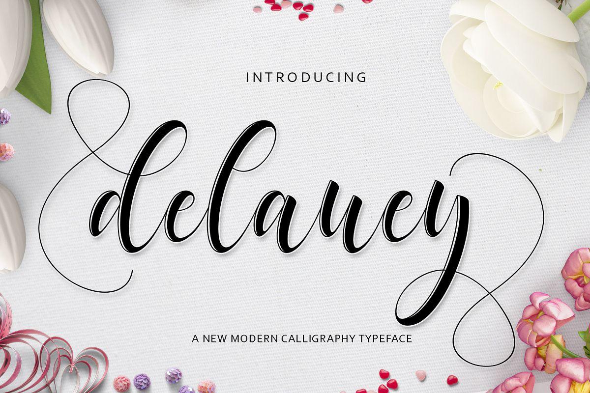 Delaney Script example image 1
