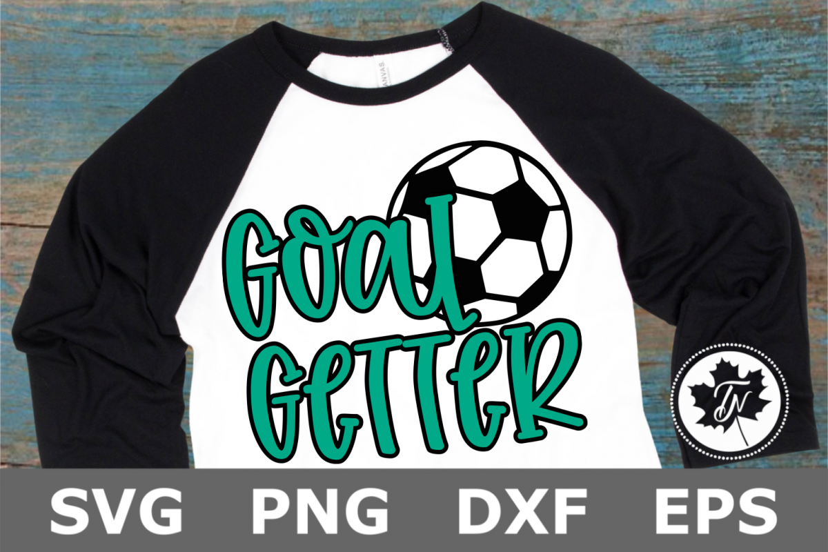 Soccer Goal Getter - A Sports SVG Cut File example image 1