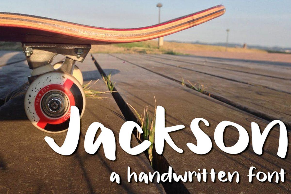 Jackson Font example image 1