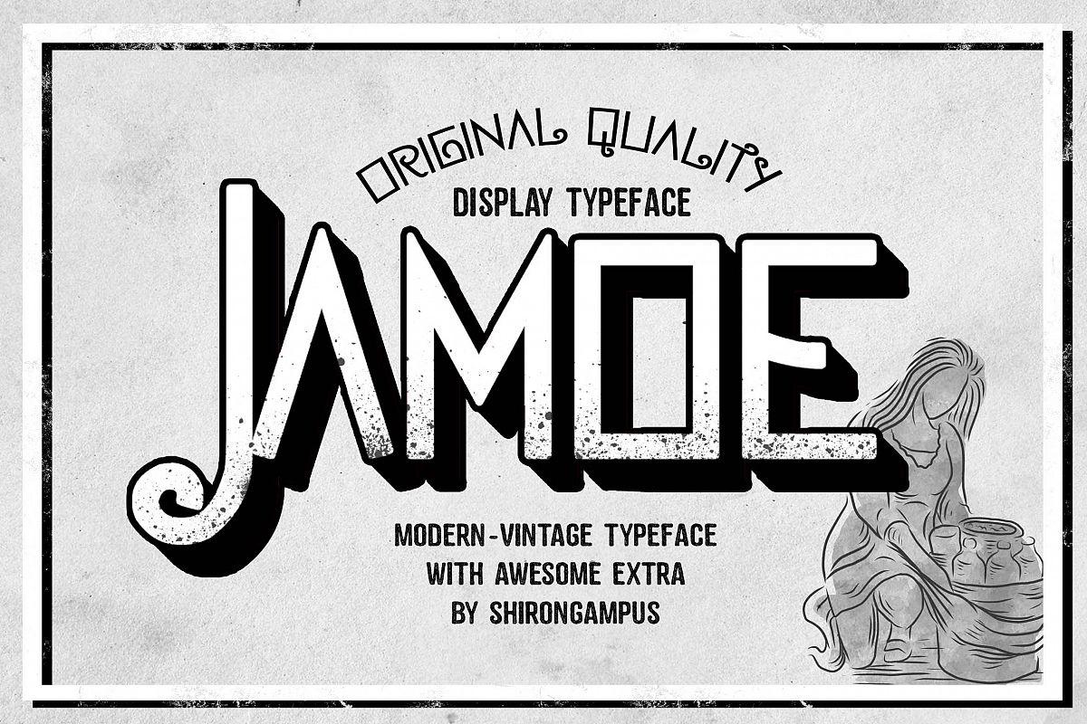 Jamoe Font example image 1