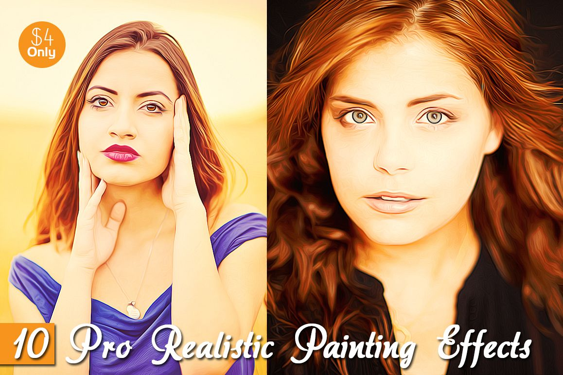 10 Pro Realistic Painting Effects example image 1