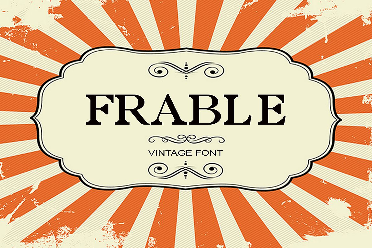 Frable Font example image 1