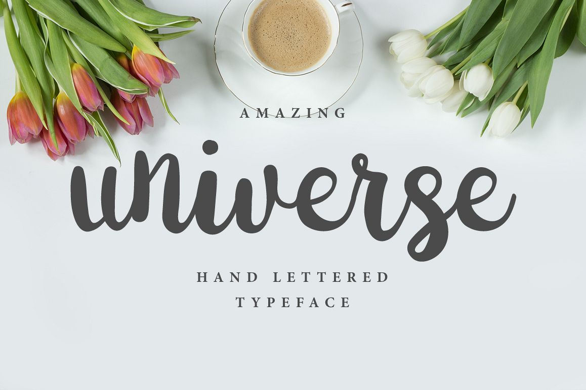 Universe Brush Font example image 1