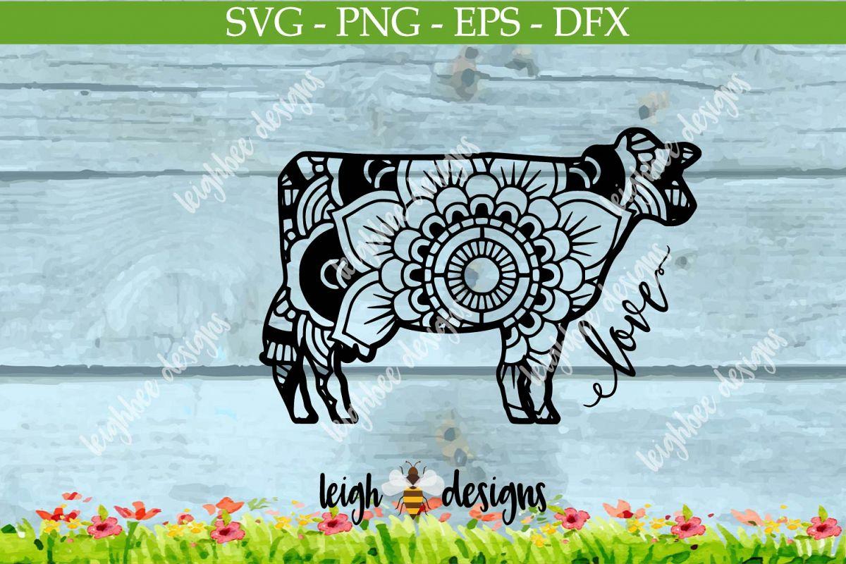 Cow Mandala example image 1