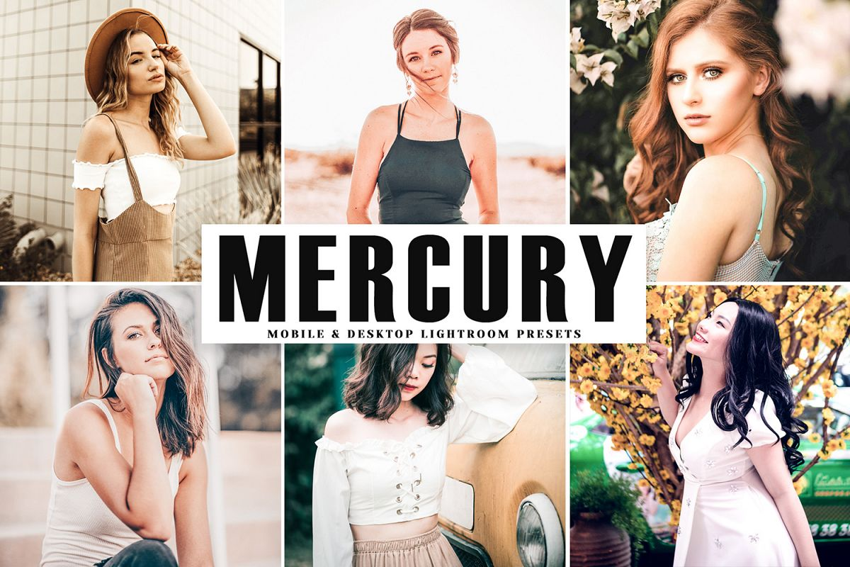 Mercury Mobile & Desktop Lightroom Presets example image 1