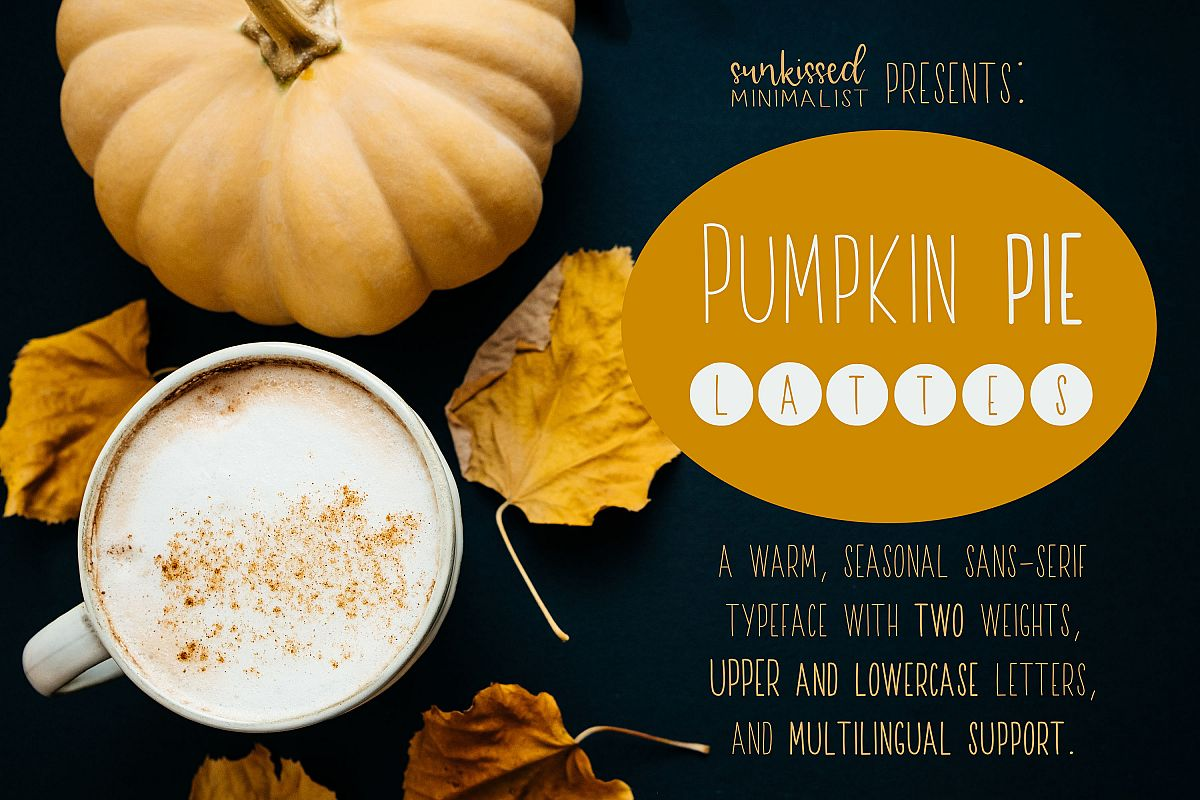 Pumpkin Pie Lattes example image 1