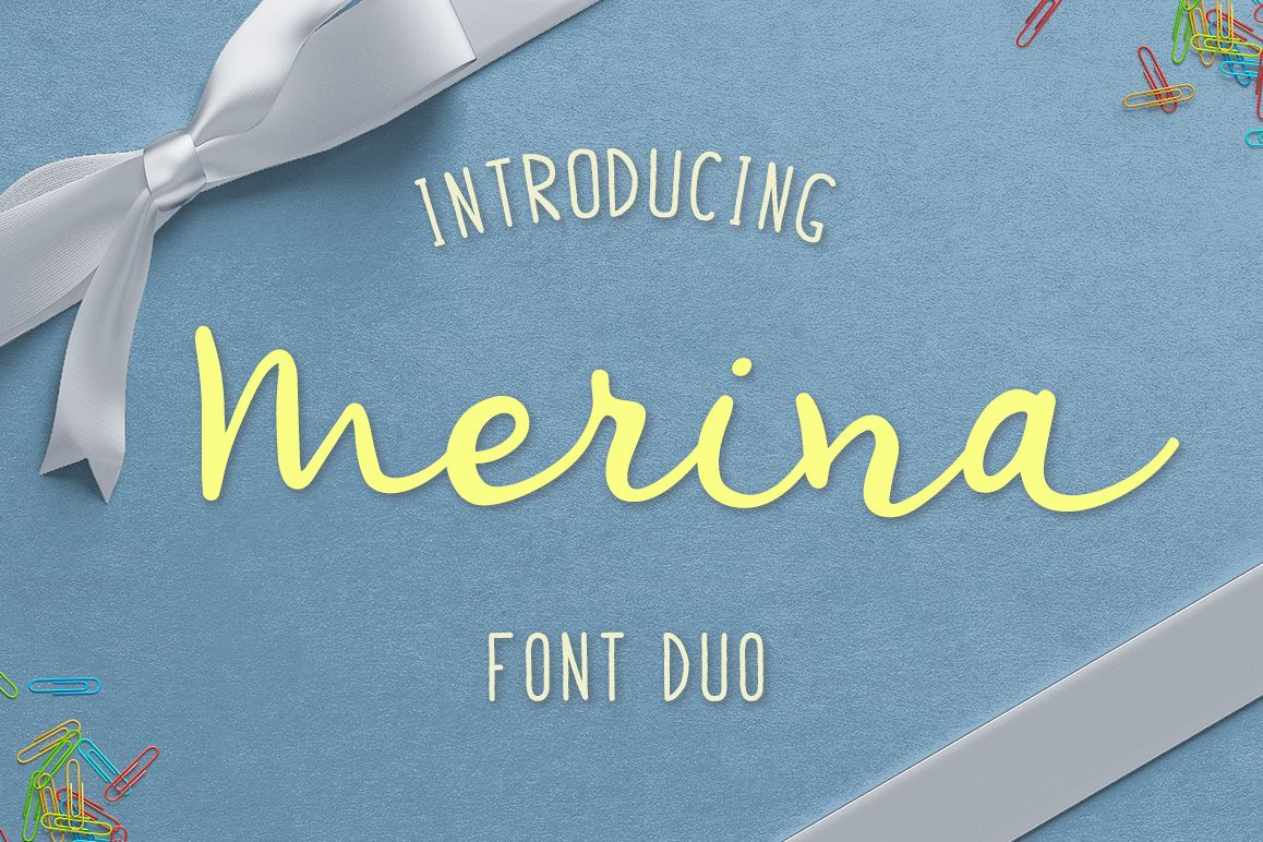 Merina Font Duo example image 1