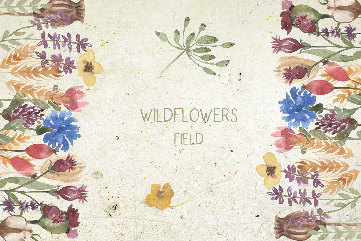 Wildflowers field example image 1