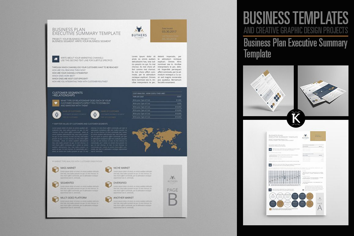 Business plan executive summary template business plan executive summary template example image 1 flashek Images