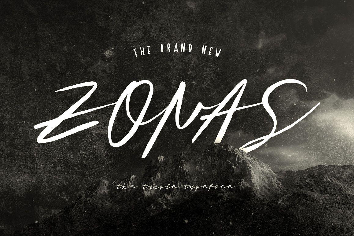 Zonas Typeface example image 1
