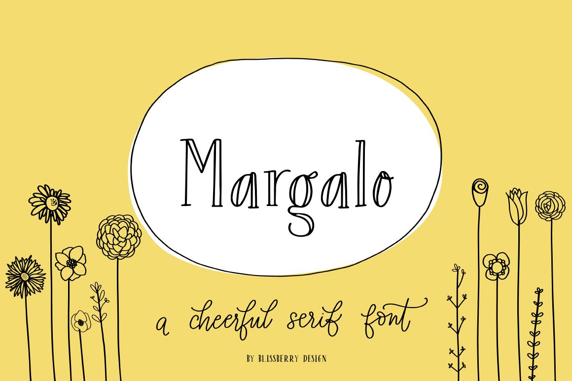 Margalo Font + Extras example image 1