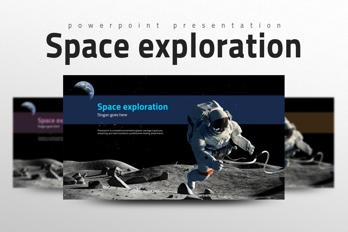 Space Exploration PPT example image 1