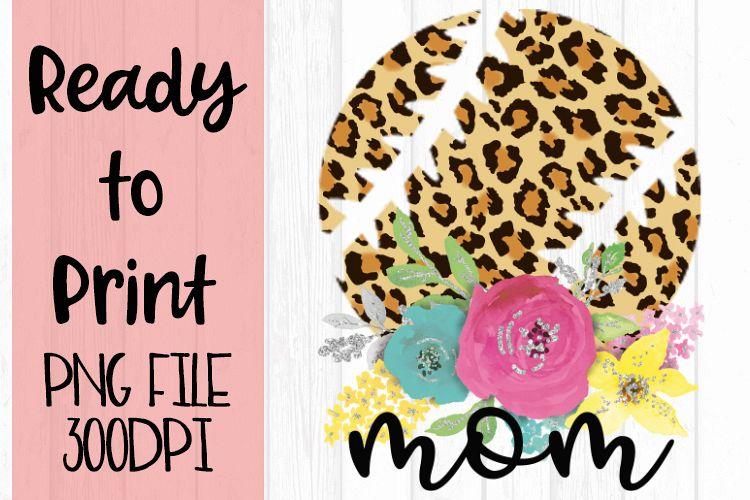 Leopard Baseball Mom Ready to Print example image 1