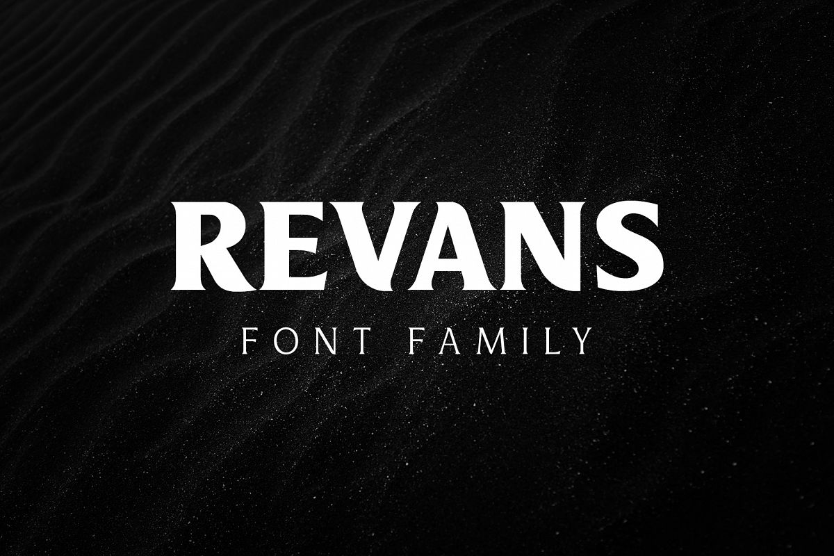 Revans Font Family example image 1