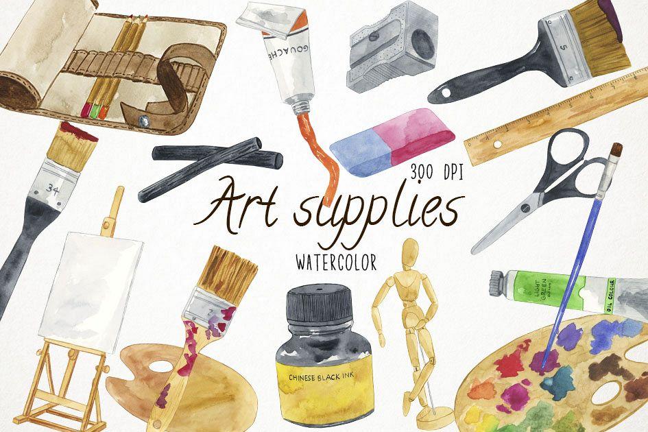 Watercolor Art Supplies Art Supplies Artists Brushes