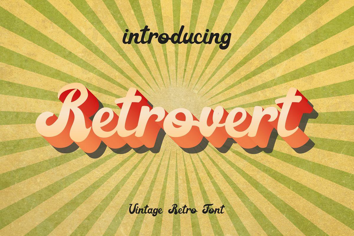 Retrovert - Retro Script Bonus example image 1