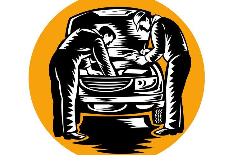 automobile car mechanic repairing vehicle example image 1
