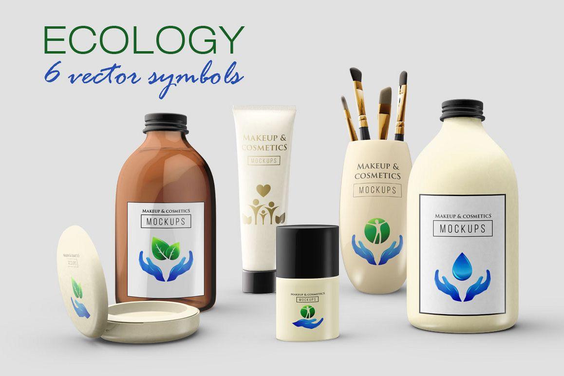 6 Ecology symbols, logos example image 1