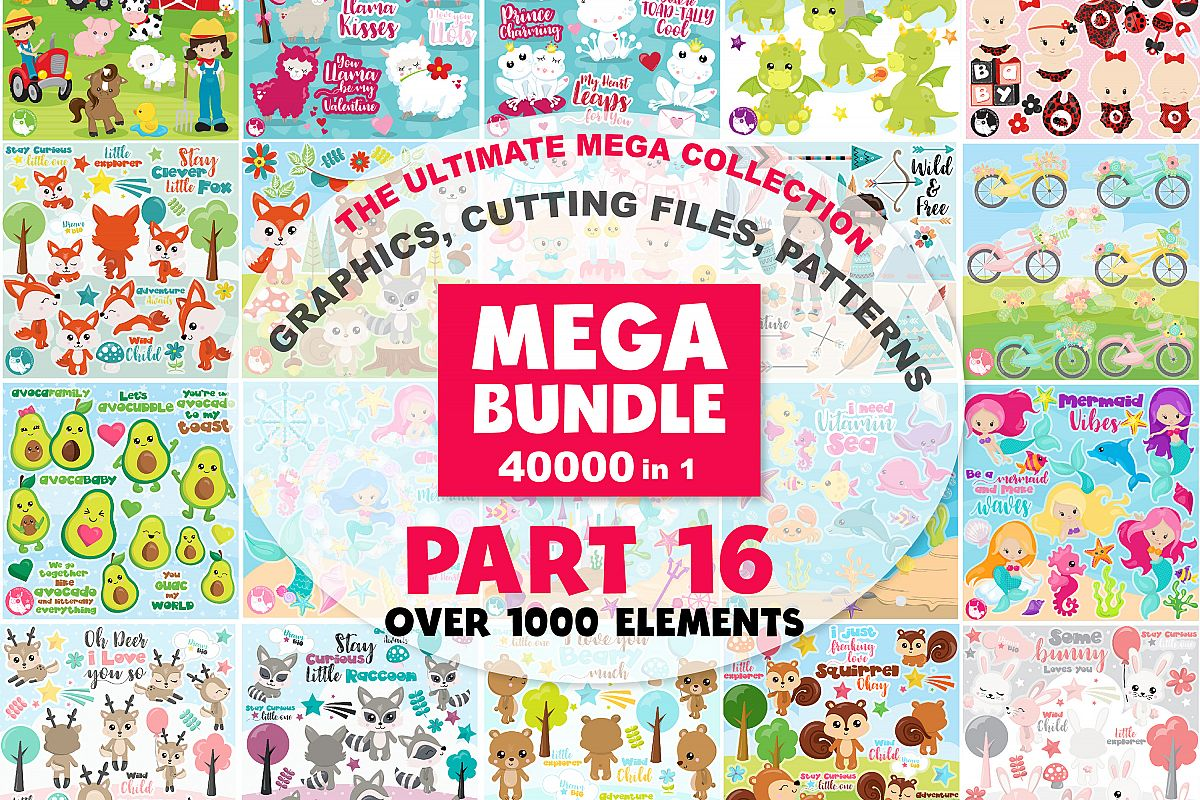 MEGA BUNDLE PART16 - 40000 in 1 Full Collection example image 1
