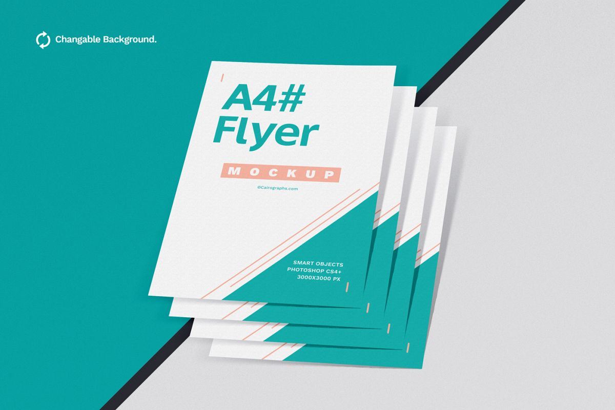 Posters & Flyers Mockups Vol.2 example image 1