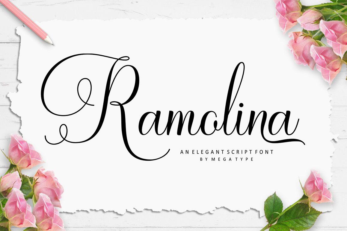 Ramolina Script example image 1