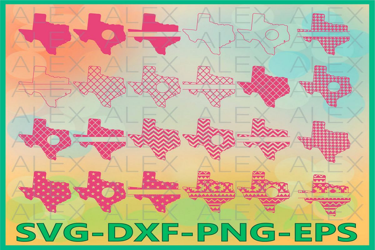 Texas State SVG, Texas SVG files for Cricut, Texas Svg example image 1