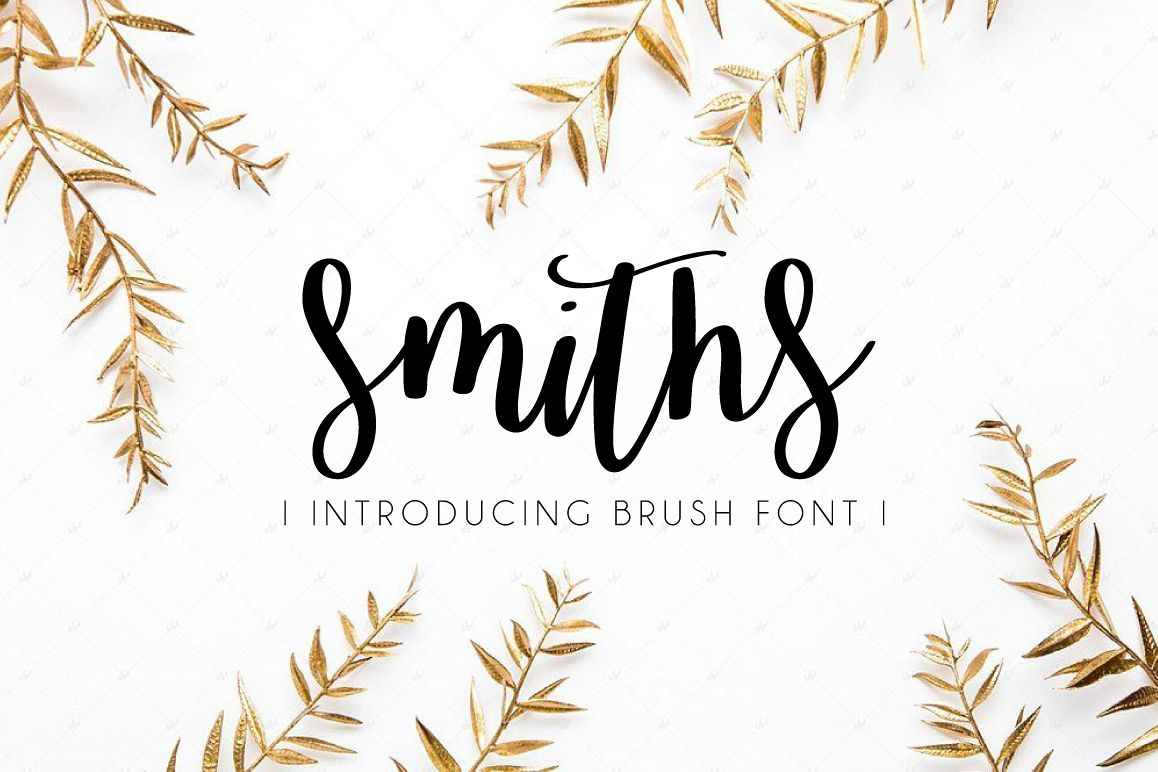 Smiths Font example image 1