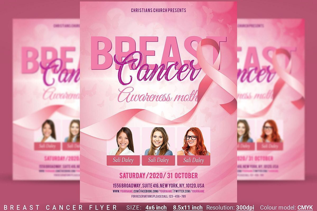 Breast Cancer Flyer example image 1