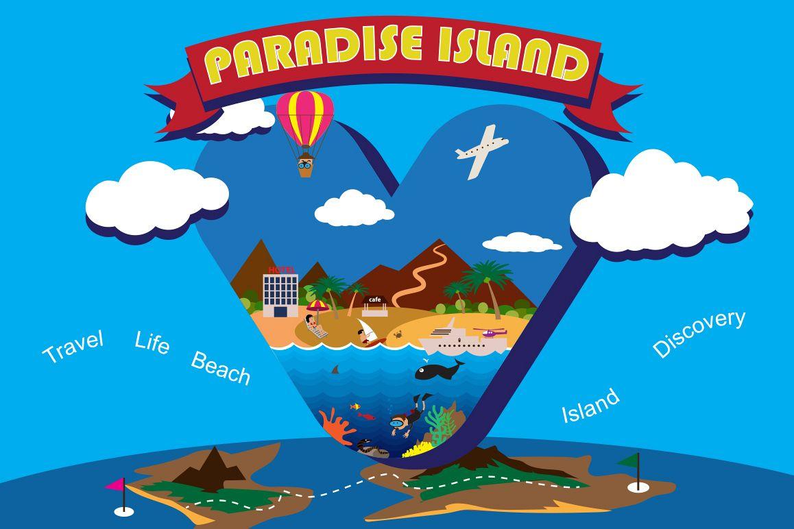 Paradise island. example image 1