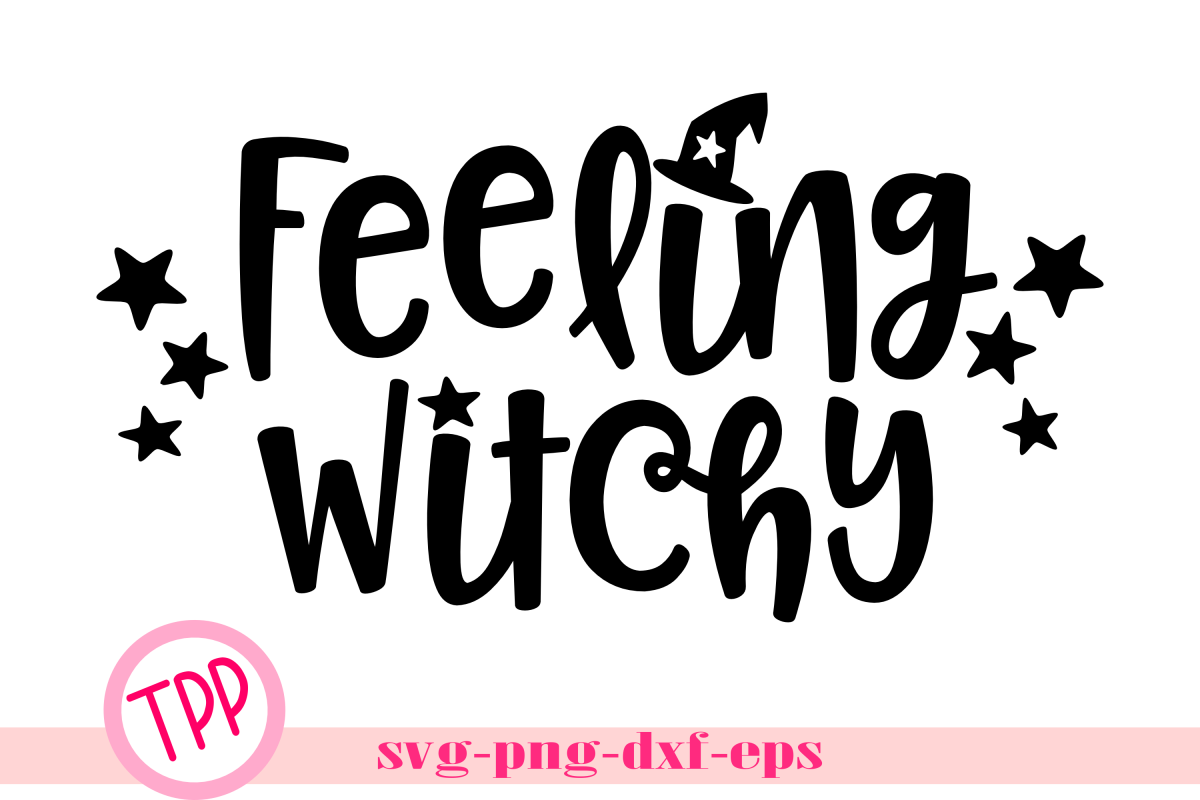 Witch Please svg, Halloween svg, witch hat design example image 1