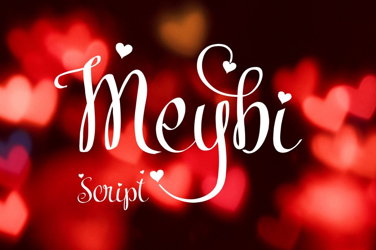 Meybi Font example image 1