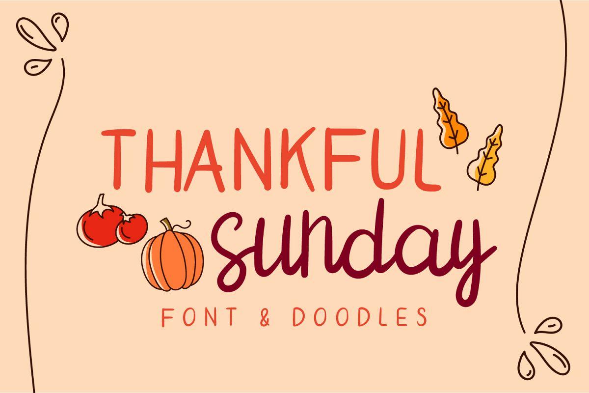 thankful sunday example image 1