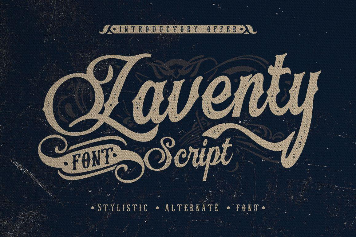 Laventy Script example image 1