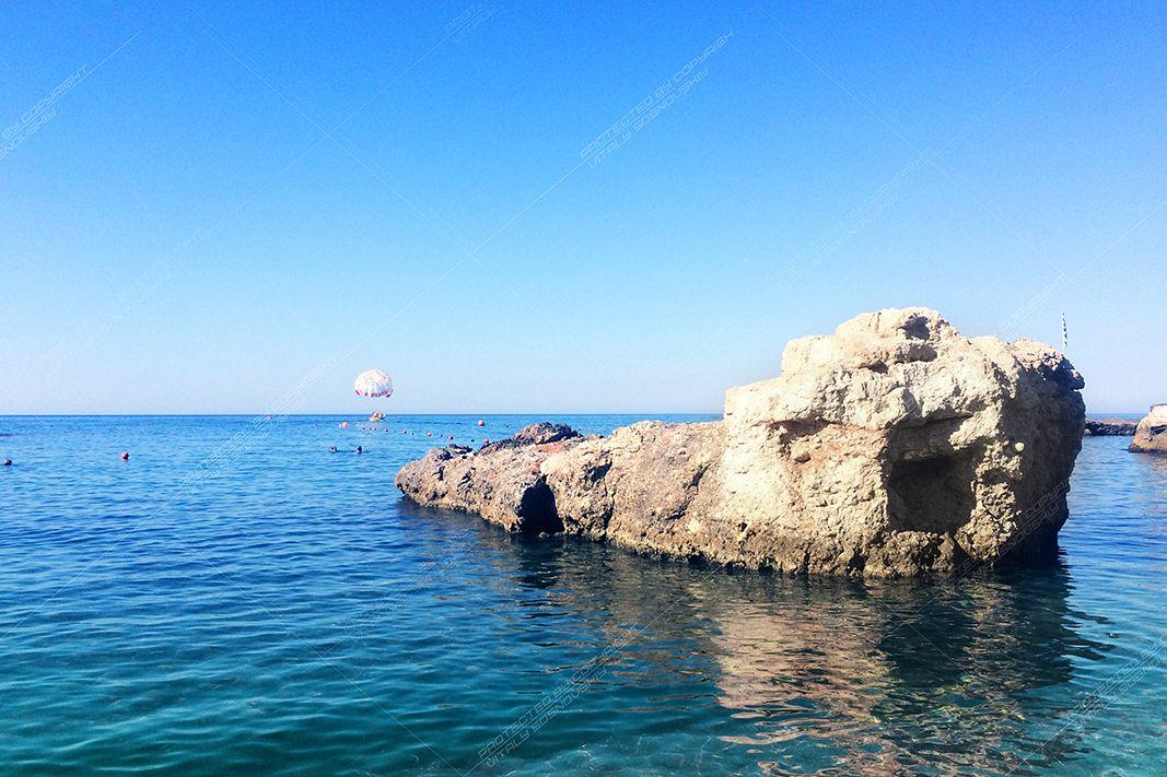 Seascape on the island of Crete, Greece example image 1