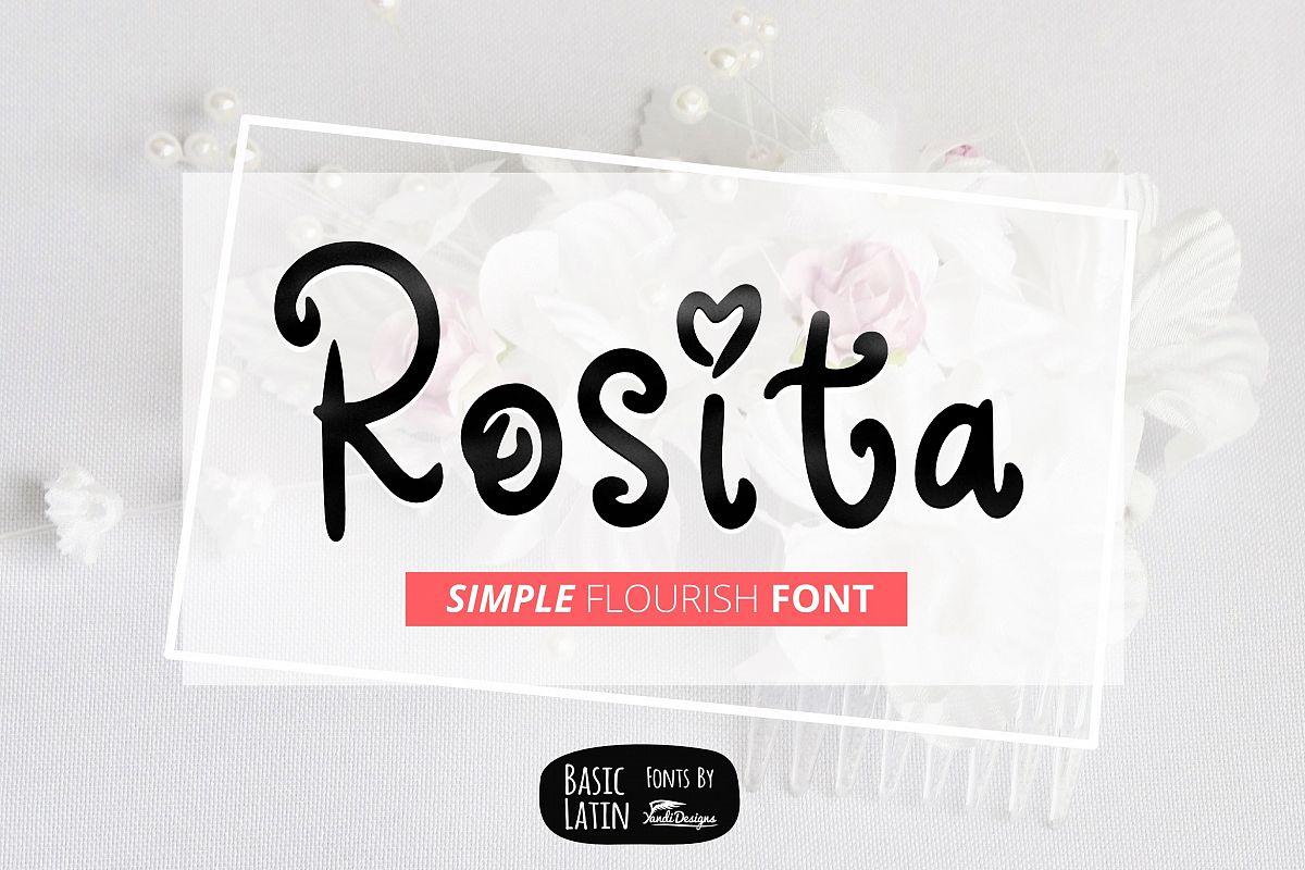Rosita Font example image 1