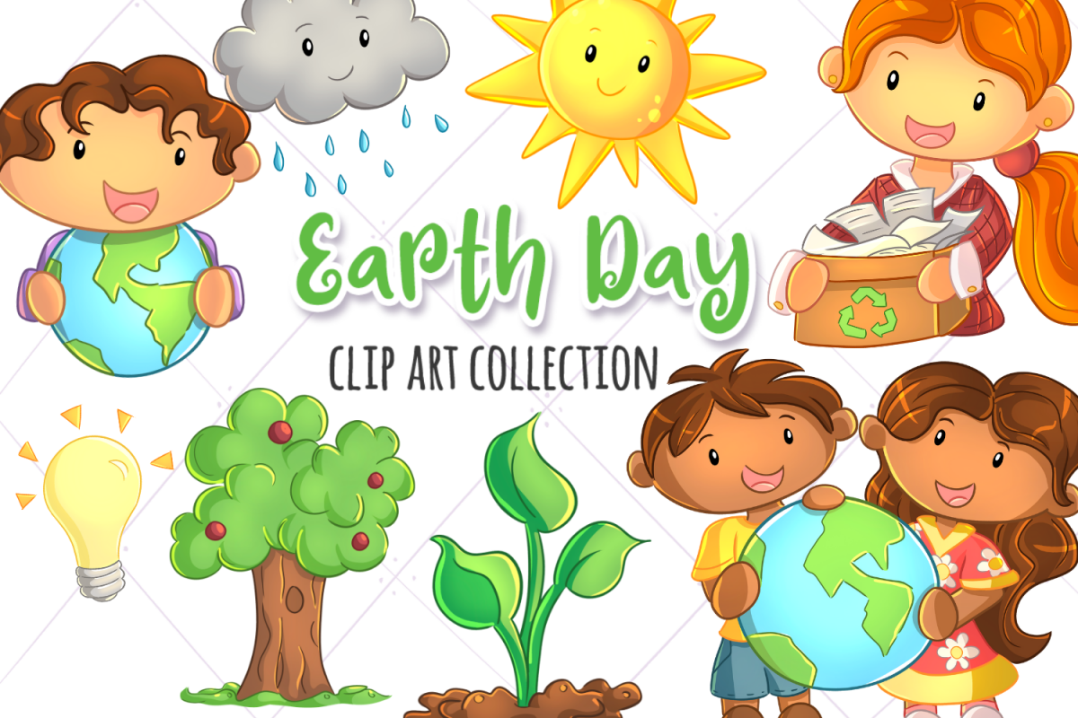 Earth Day Clip Art Collection example image 1